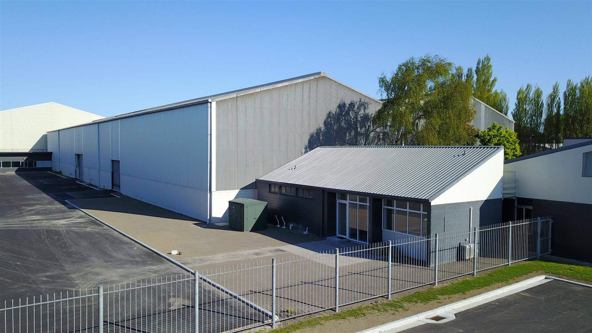 Front Warehouse  for Lease Middleton Christchurch