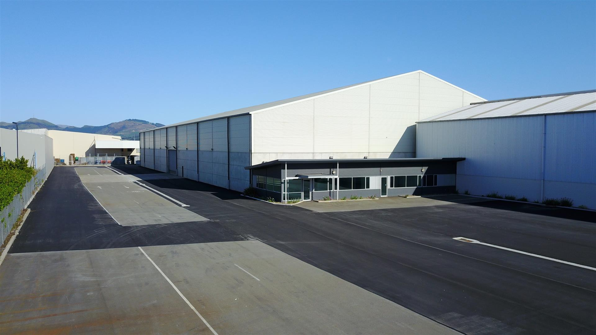 Rear Warehouse  for Lease Middleton Christchurch