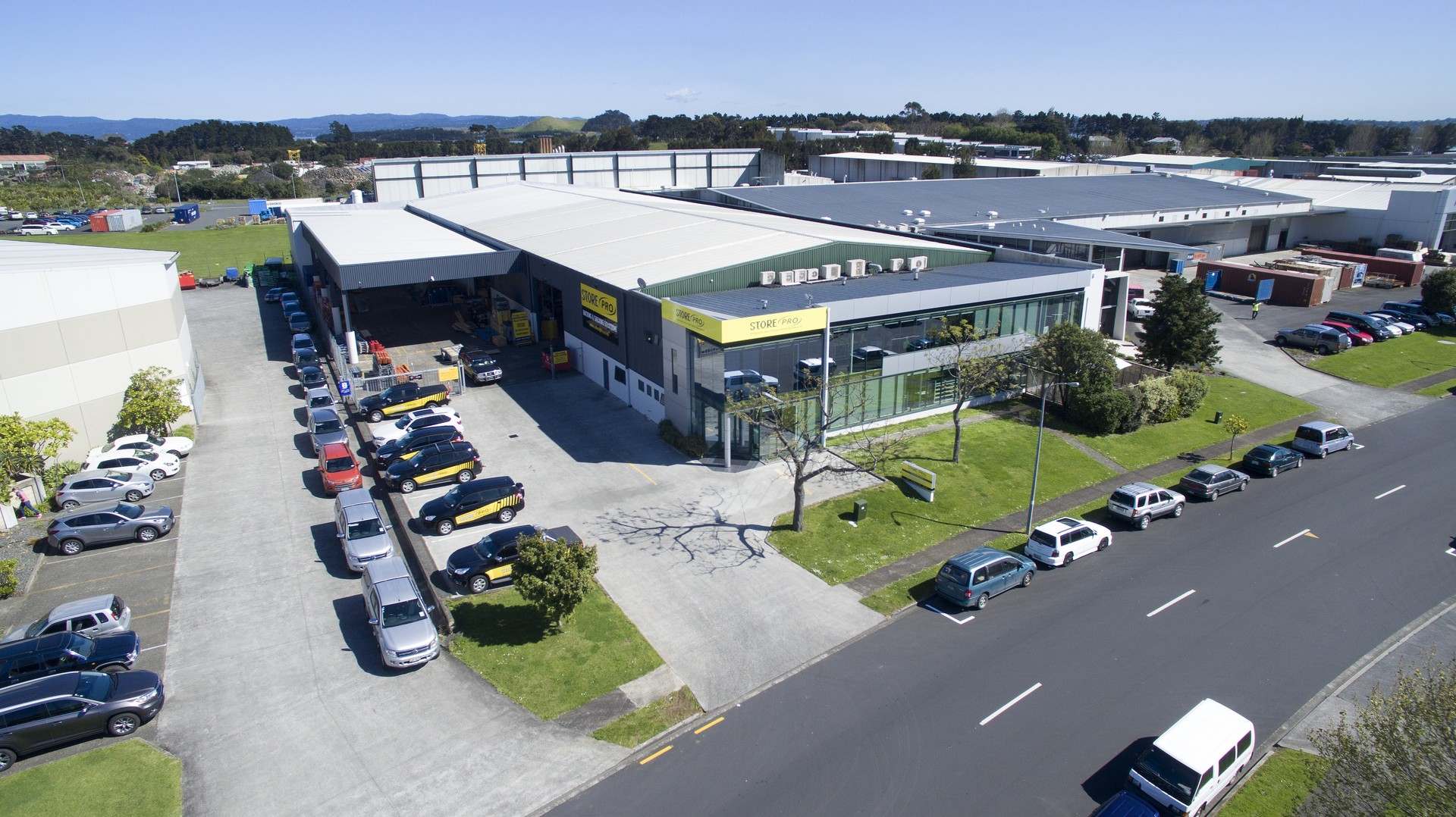 Warehouse and Canopy  for Lease Mangere Auckland