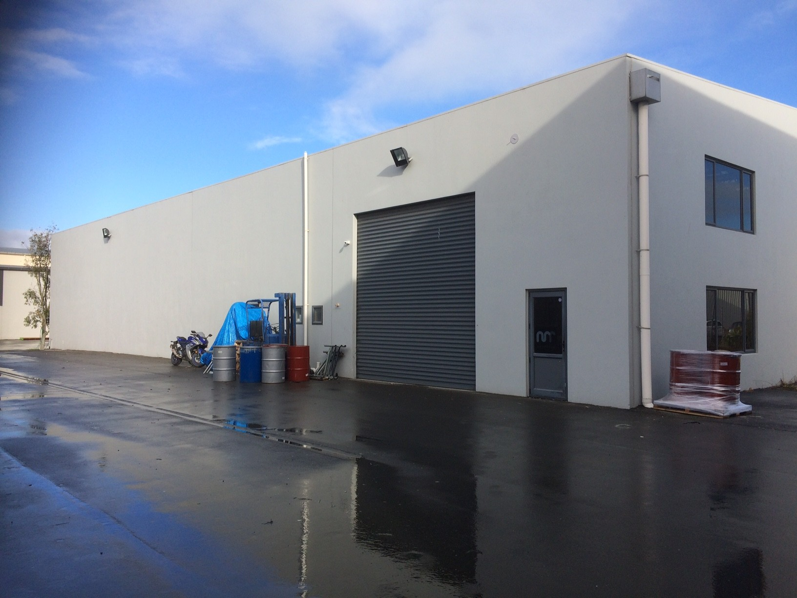 Unit Built For Manufacturing  for Lease Hornby Christchurch