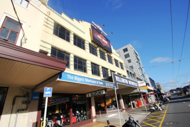 Retail  for Lease Mount Victoria Wellington
