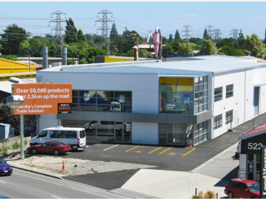 Warehouse  for Lease Sockburn Christchurch