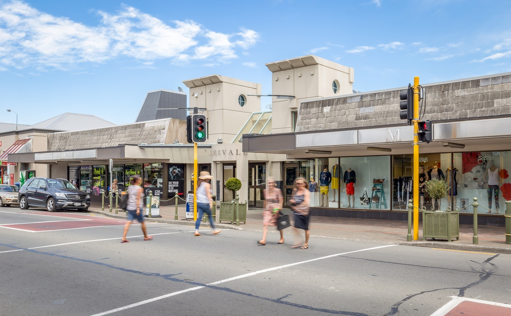Mall Retail  for Lease Merivale Christchurch
