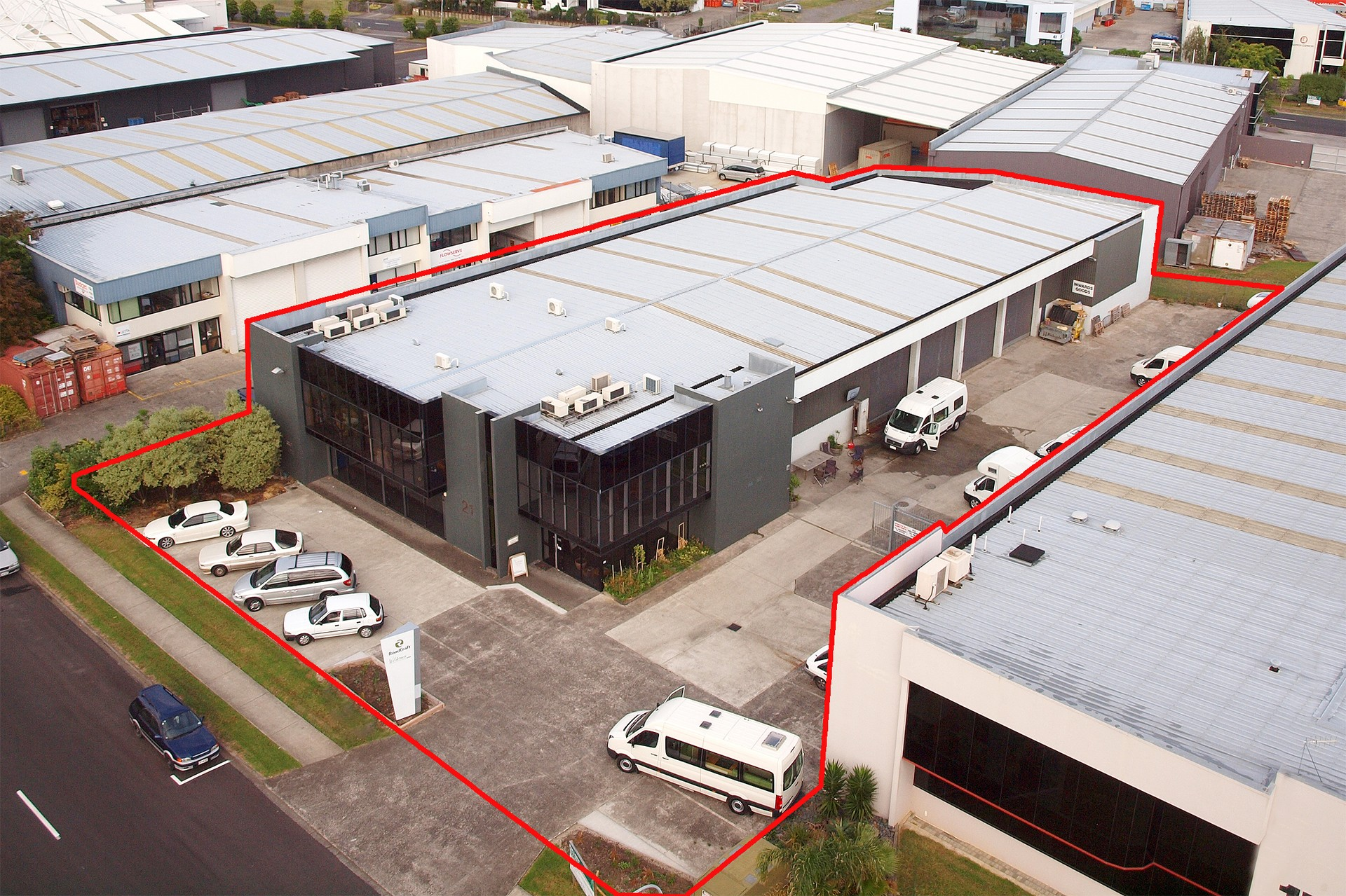 Industrial Warehouse with Secure Yard  for Lease Mangere Auckland