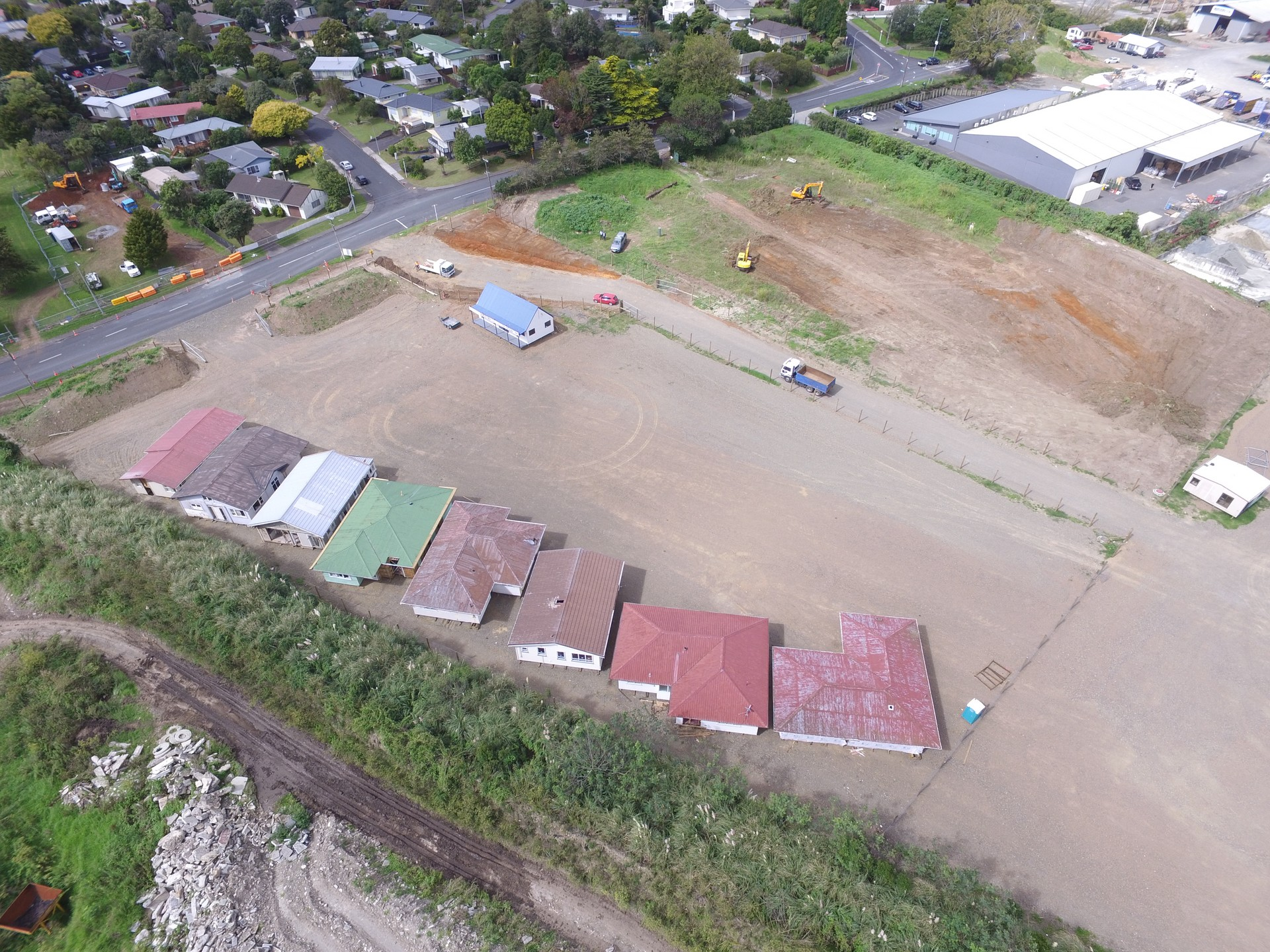 Yard  for Lease Papakura Auckland