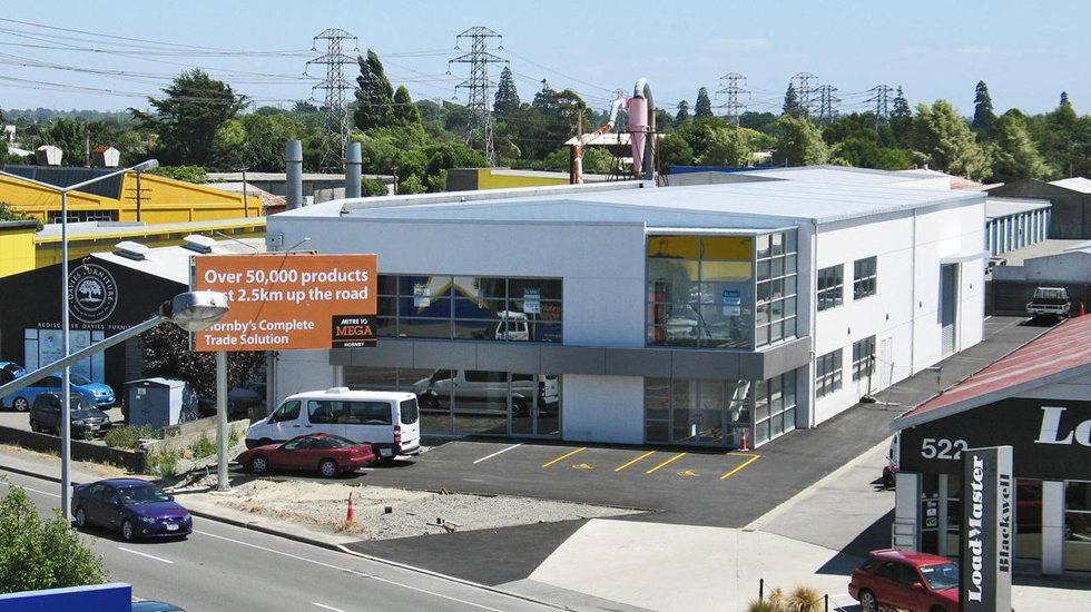 Industrial Warehouse with Office and Showroom  for Lease Sockburn Christchurch