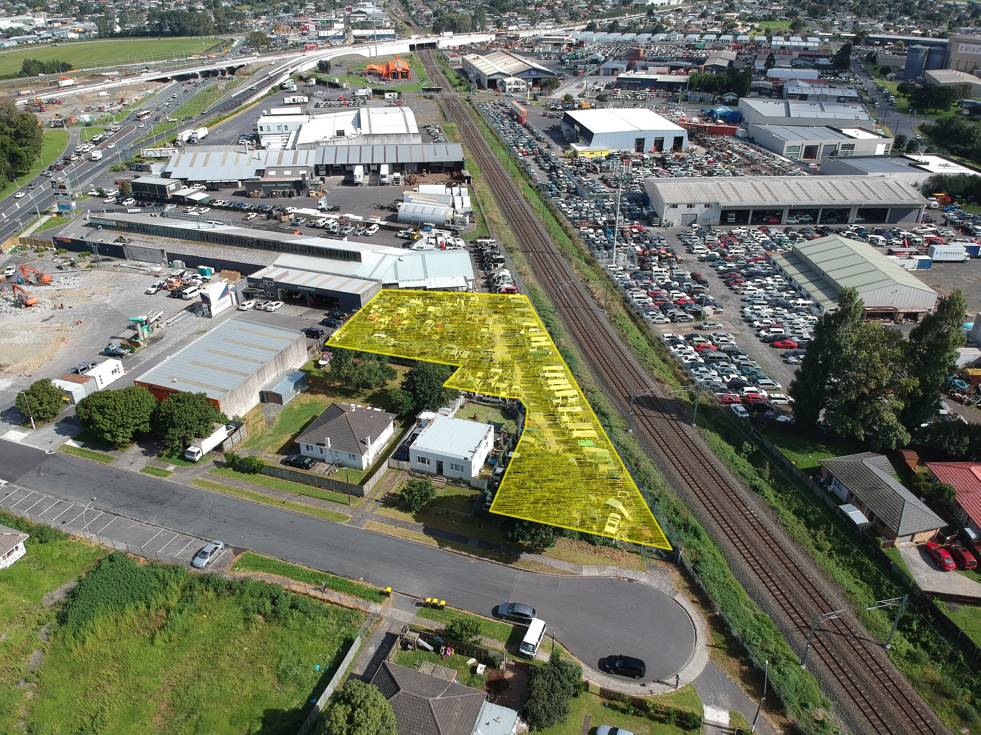 Yard  for Lease Takanini Auckland