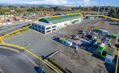 Large Industrial Facility  for Sale Harewood Christchurch