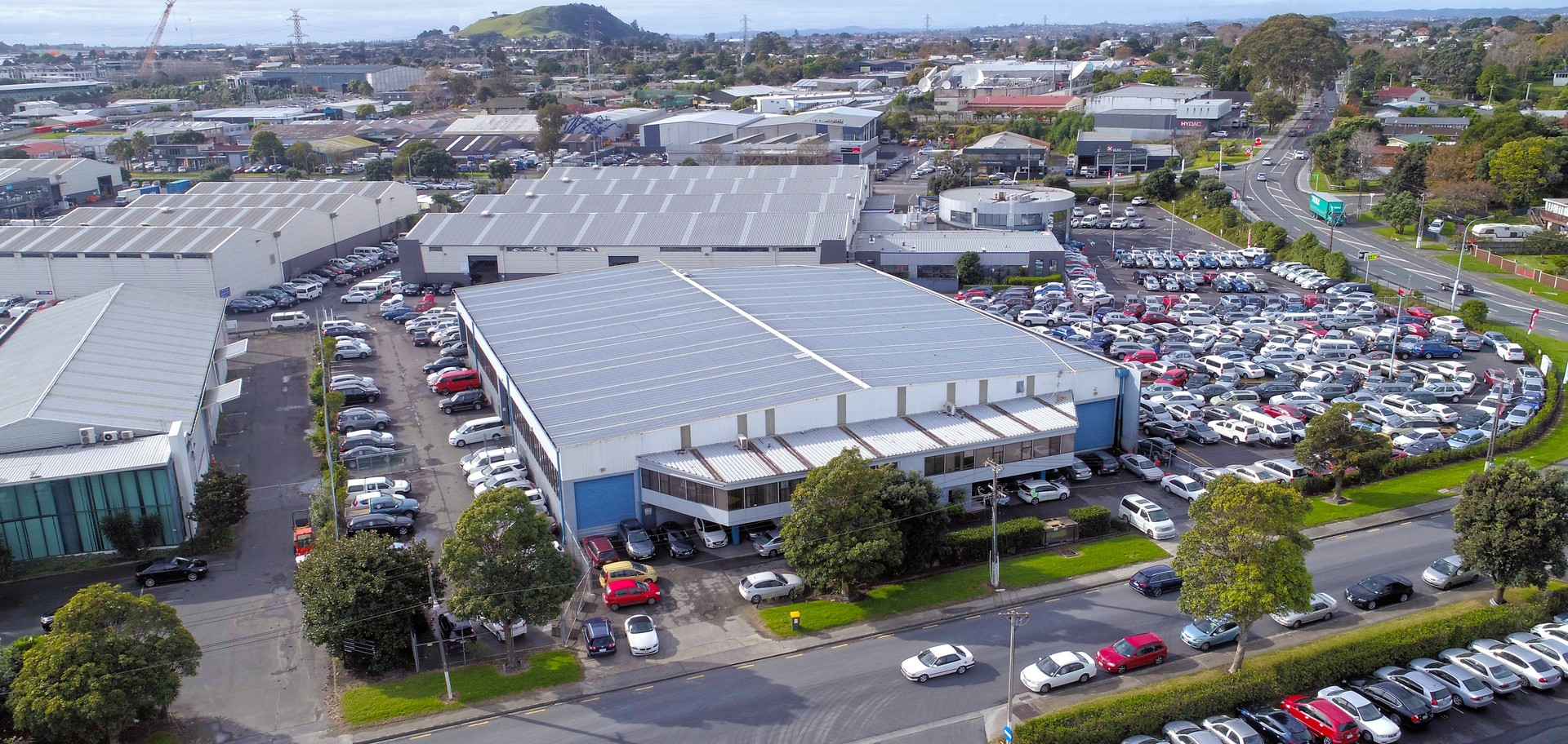 Central Industrial Standalone Unit  for Lease Mount Wellington Auckland