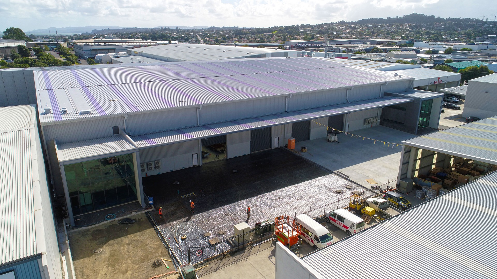Immaculate Industrial Warehouse  for Lease Penrose Auckland