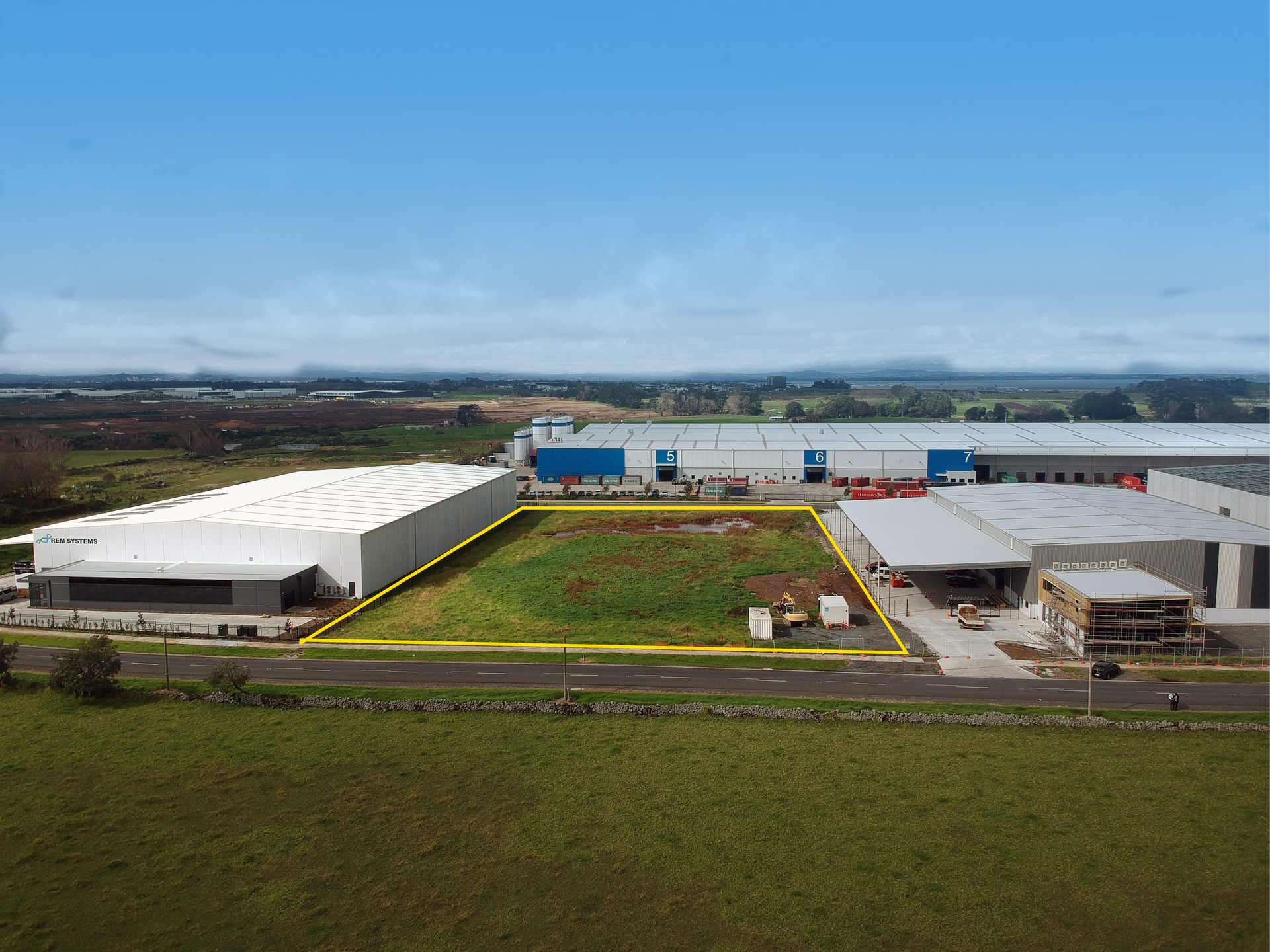 Industrial Land Development  for Sale Mangere Auckland