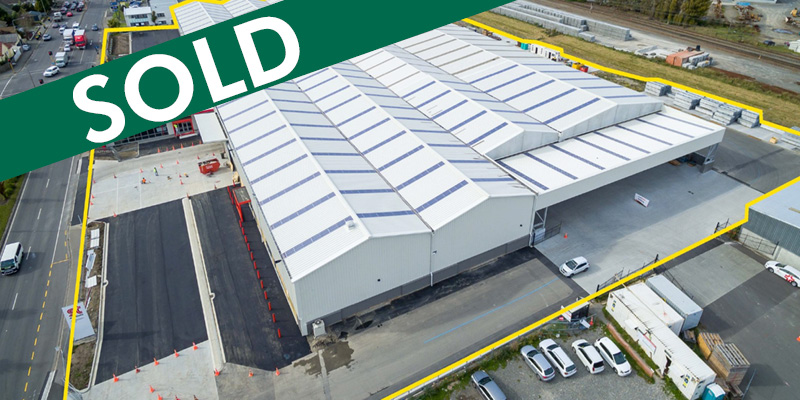 Fully Leased Industrial Warehouse  for Sale Middleton Christchurch