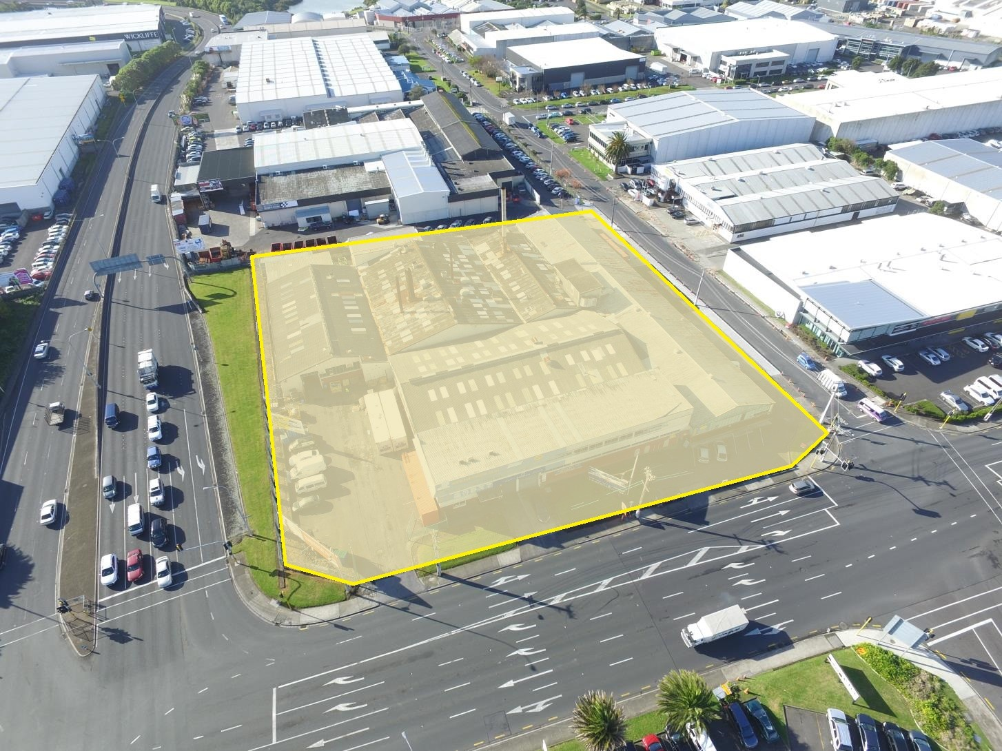 Large Corner Yard  for Lease Mount Wellington Auckland