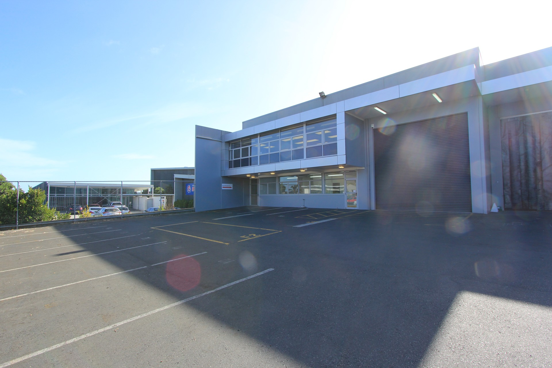 High Stud Warehouse and Office  for Lease Wiri Auckland