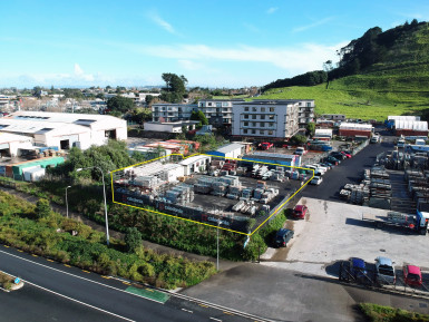 Secure Yard  for Lease Mount Wellington Auckland