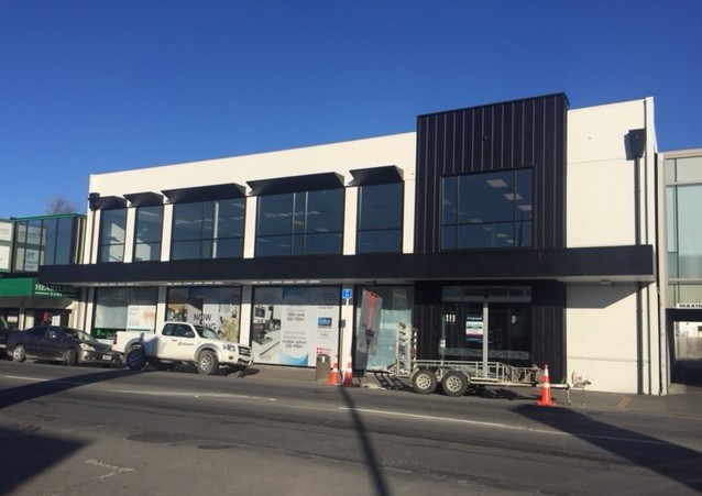 Modern Retail with Office Space  for Lease Riccarton Christchurch