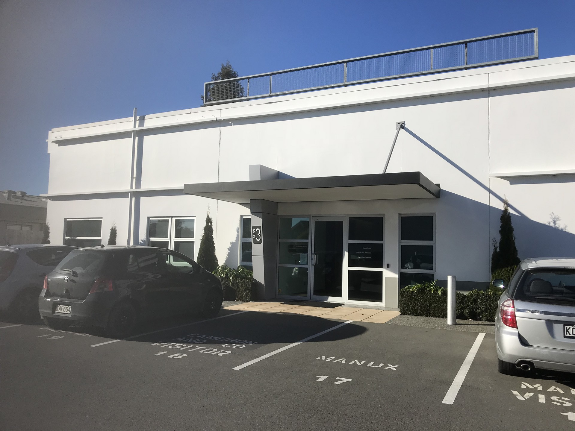Offices with Onsite Parking  for Lease Riccarton Christchurch