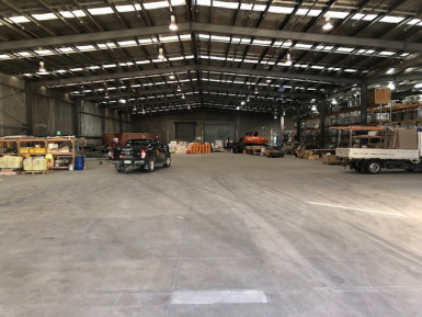 Large Industrial Warehouse with Office  for Lease Hornby Christchurch