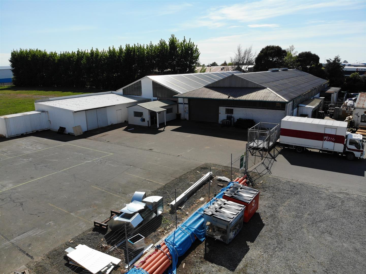 Factory Warehouse Facility  for Lease Hornby Christchurch