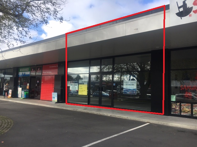 Retail with Onsite Parking  for Lease Burnside Christchurch