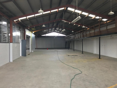 Industrial Warehouse with Office  for Lease Henderson Auckland