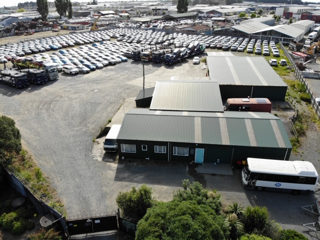 Large Contractors or Storage Yard  for Lease Bromley Christchurch