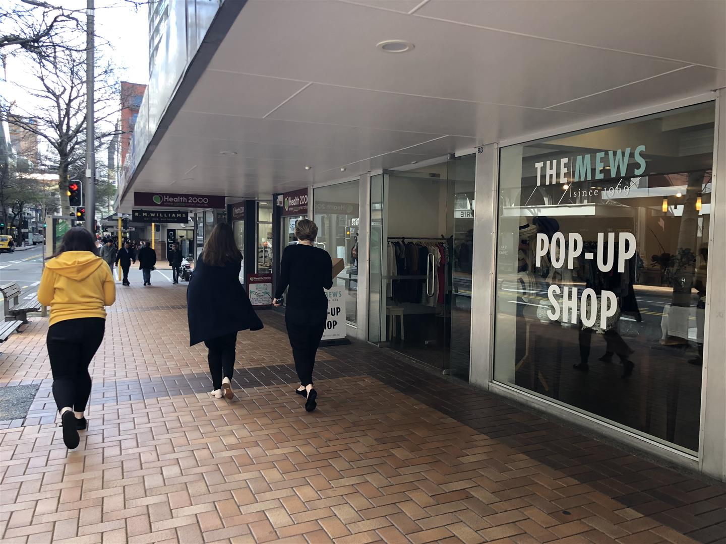 Willis Street Retail  for Lease Wellington Central