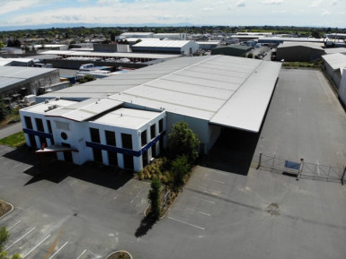 Industrial Warehouse with Large Yard  for Lease Hornby Christchurch