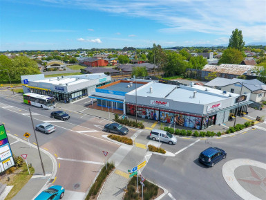 Fully Leased Retail Strip  for Sale Kaiapoi Christchurch