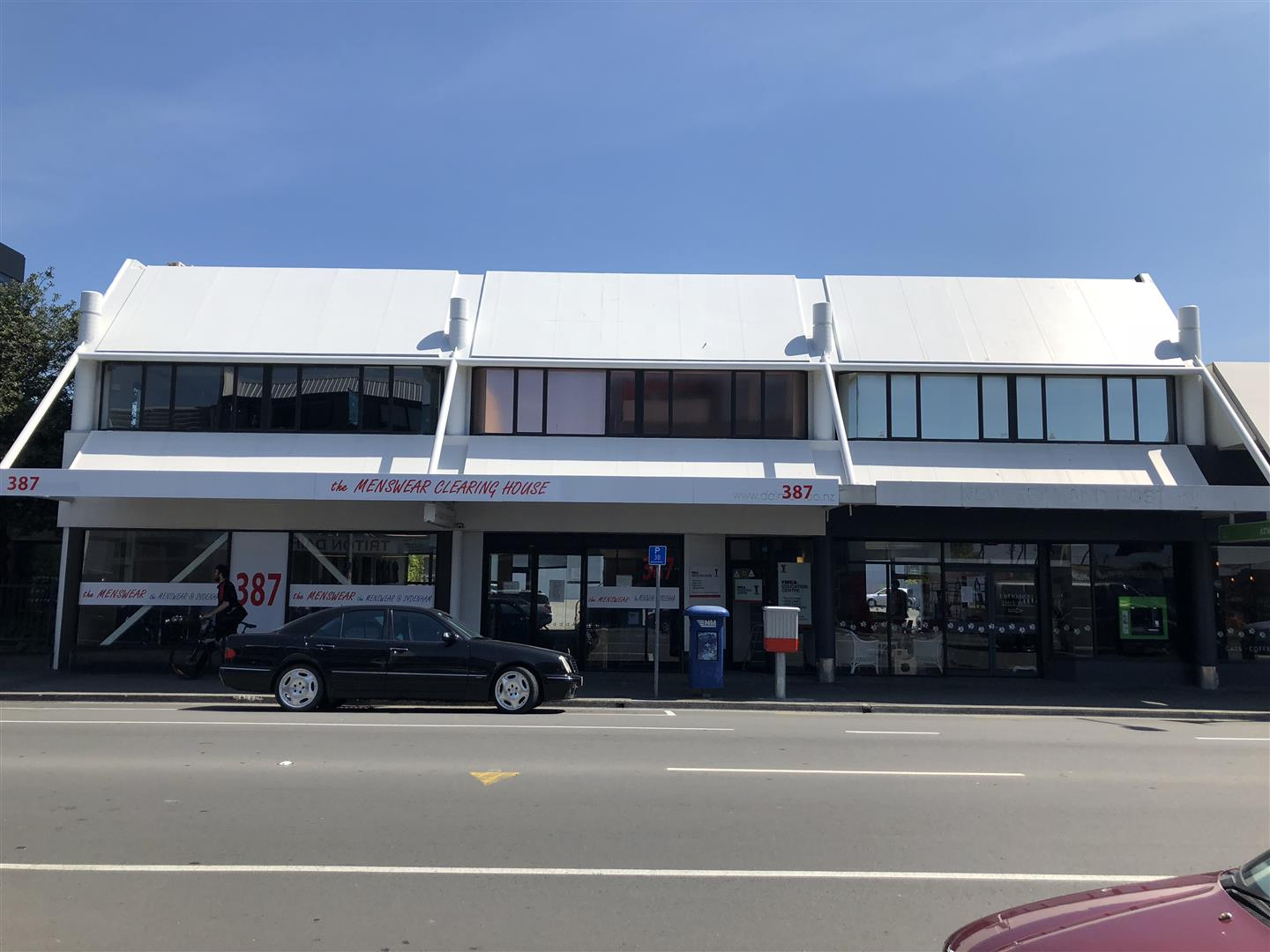 Retail with Parking  for Lease Sydenham Christchurch