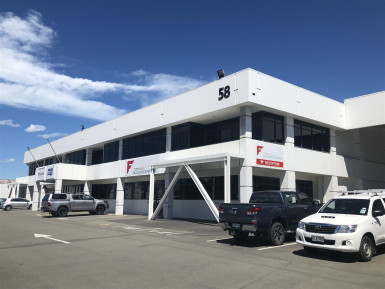 Offices with Onsite Parking  for Lease Addington Christchurch