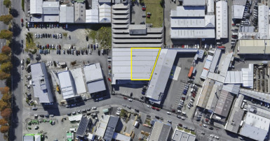 Industrial Warehouse  for Lease Phillipstown Christchurch