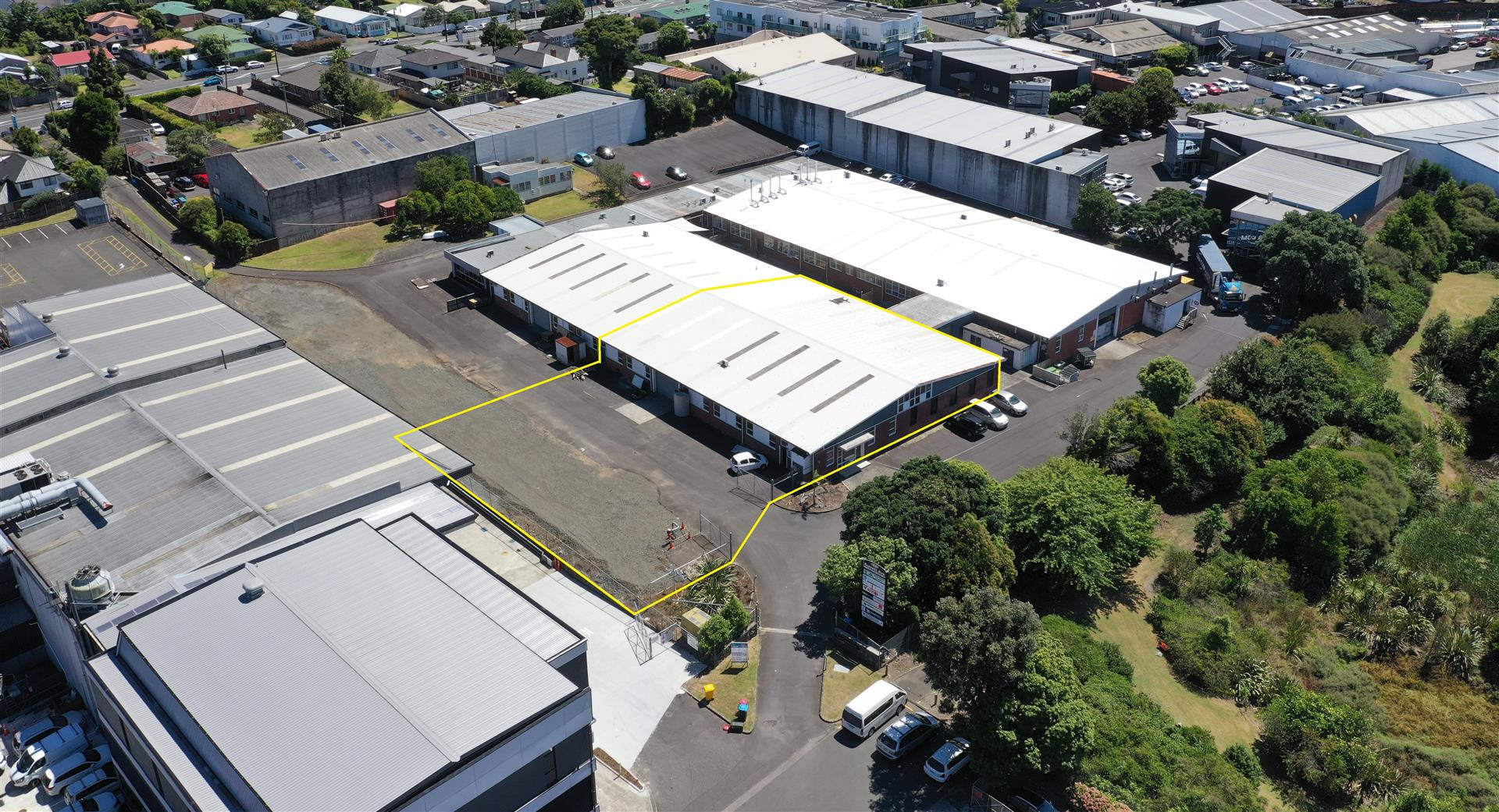Penrose Warehouse and Yard  for Lease Auckland