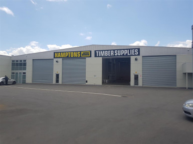 Industrial Warehouse with Office and Yard  for Lease Phillipstown Christchurch