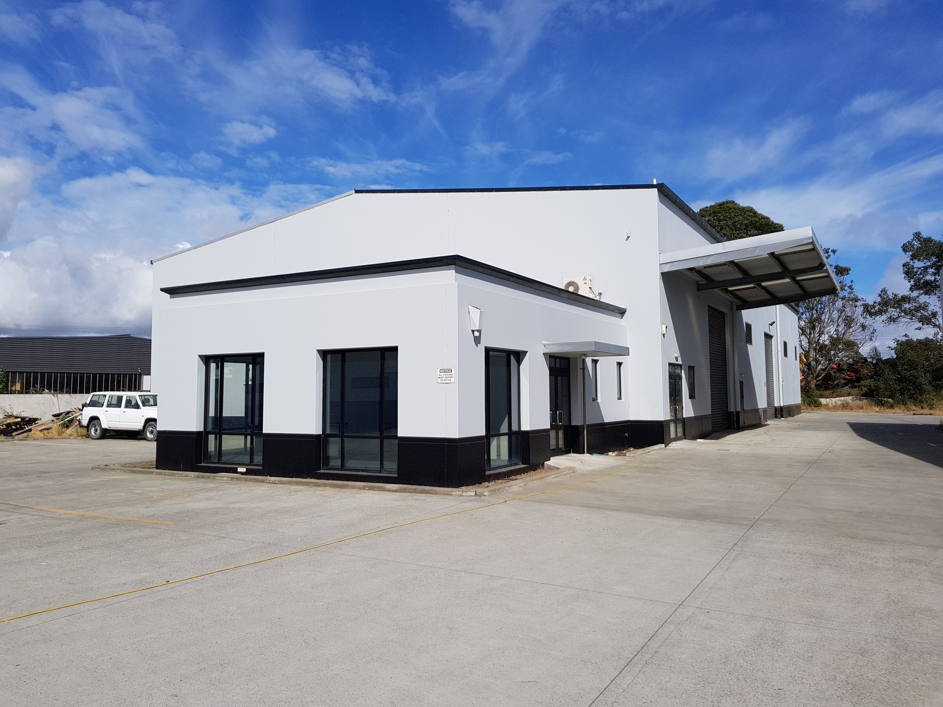 Industrial Warehouse with Office Space  for Lease Bromley Christchurch
