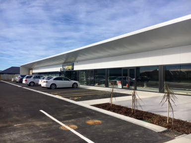 Brand new Retail  for Lease Lincoln Christchurch
