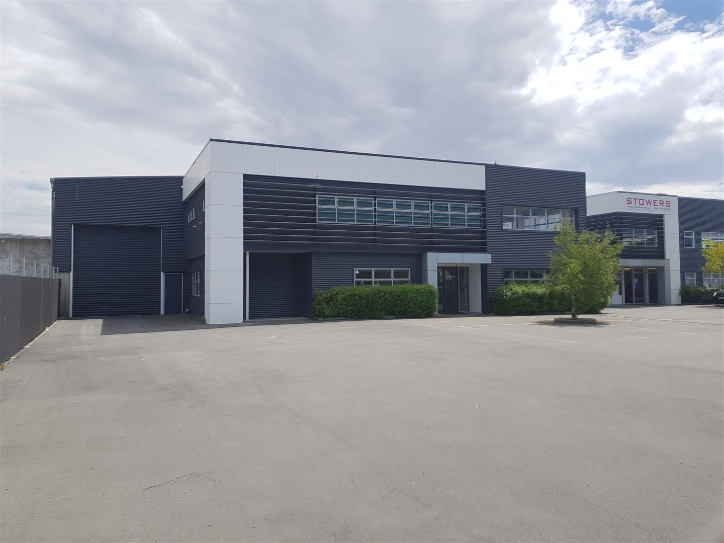 Industrial Warehouse with Office  for Lease Sydenham Christchurch
