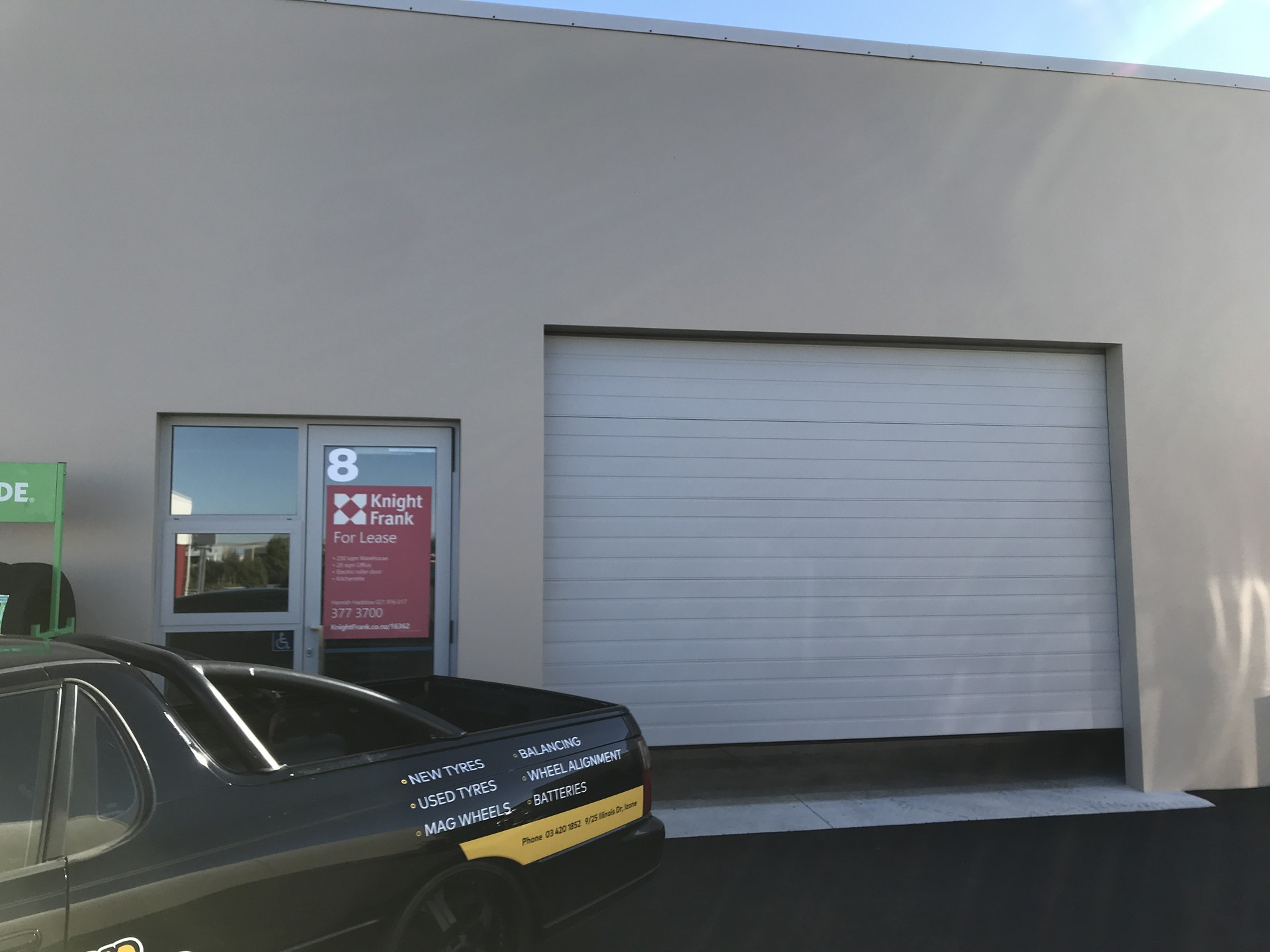 Industrial Warehouse with Office  for Lease Rolleston Christchurch