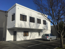 Industrial Warehouse with Carparking Property for Lease Burnside Christchurch