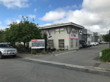 Industrial Warehouse with Office and Parking  for Lease Wigram Christchurch