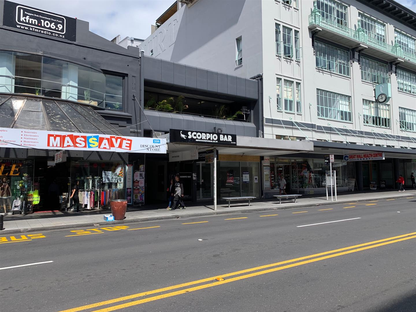 Retail  for Lease Auckland Central