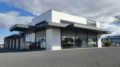 Fully Fenced Industrial Warehouse  for Lease Burnside Christchurch