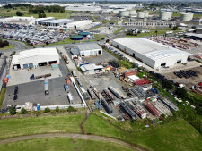 Fully Fenced Industrial Warehouse Property for Lease Wiri Auckland