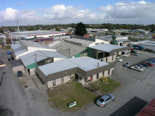 Industrial Warehouse with Carparking Property for Lease Wainoni Christchurch