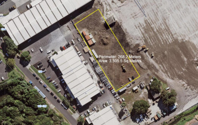 3,500sqm Yard  Property  for Lease