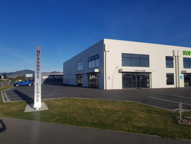 Corner Profile Showroom & Warehouse  for Lease Wigram Christchurch