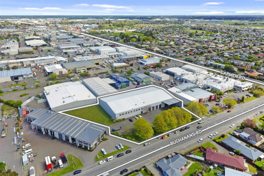 Prime Industrial Distribution Centre  for Sale Hornby Christchurch