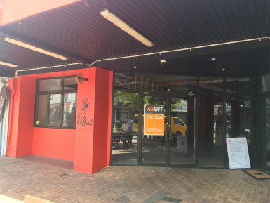 Cafe and Commercial Kitchen Premises  for Lease Ebdentown Wellington
