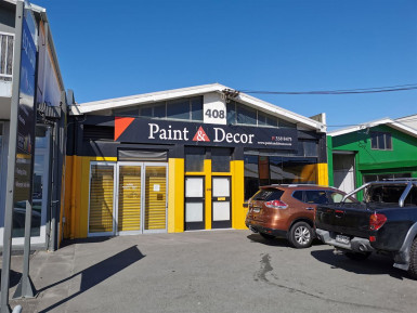 Tuam Street Warehouse and Office  for Lease Phillipstown Christchurch