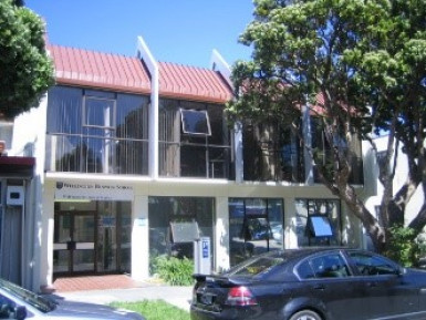 Tree Lined Street Modern Office  for Lease Hutt Central